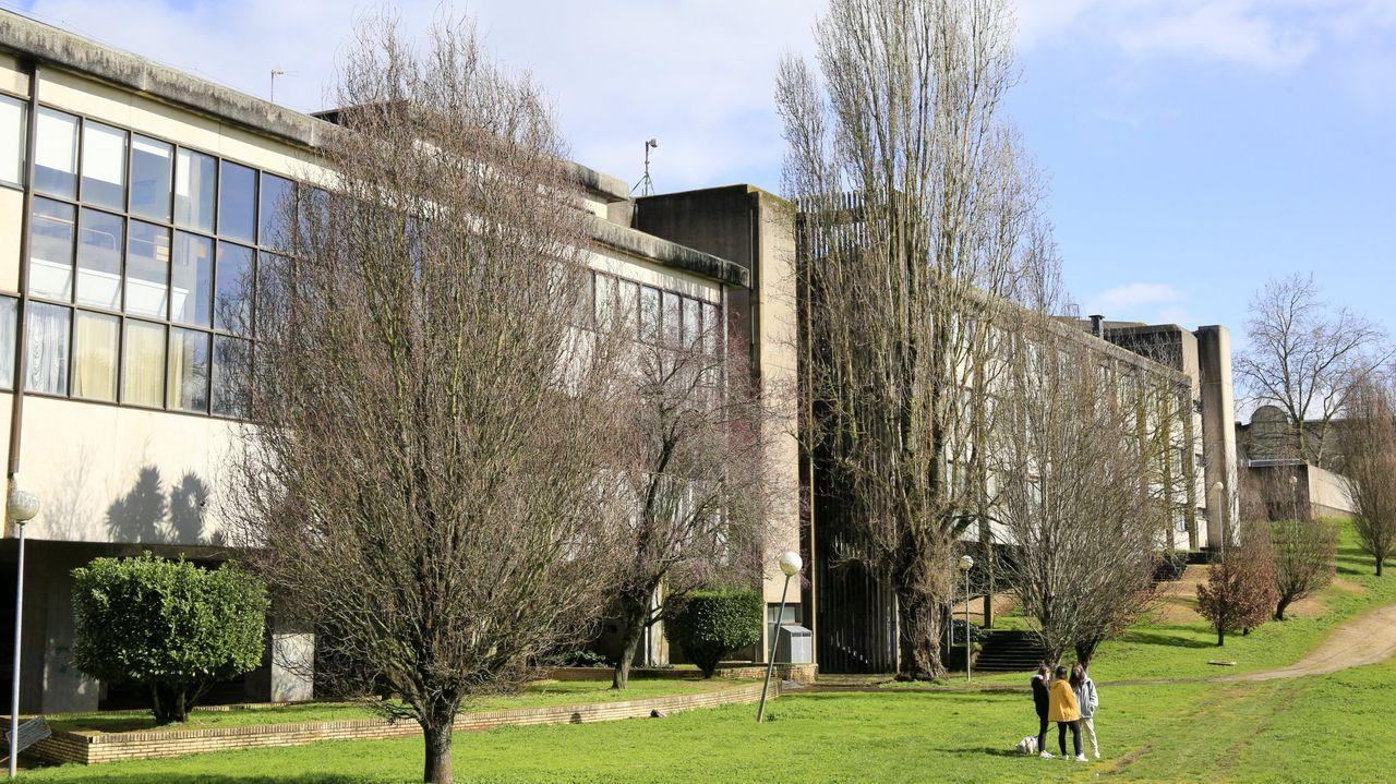 Exterior de la Facultade de Veterinaria de Lugo, única que ofrece esa formación en Galicia