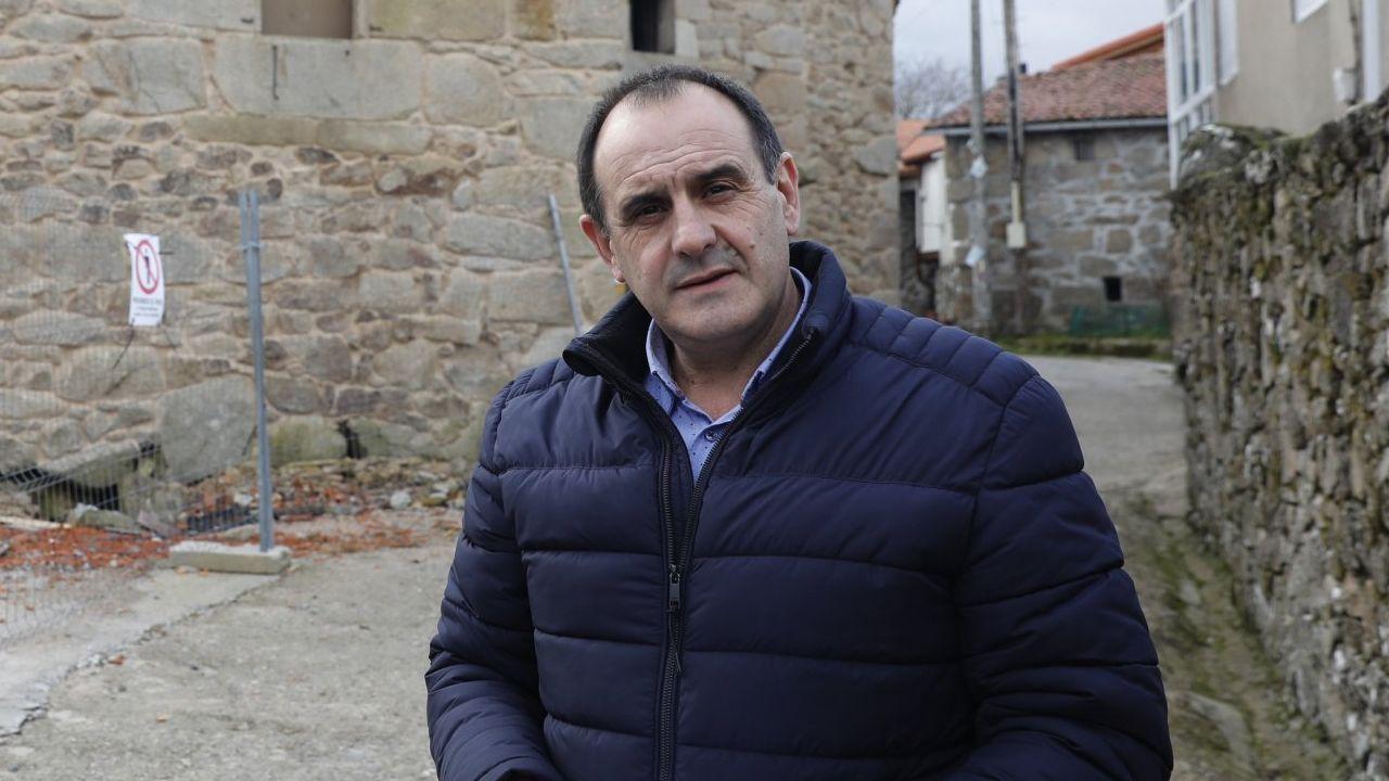 Museos para viajar al pasado en Ourense.Aquilino Domínguez es el alcalde de Parada de Sil