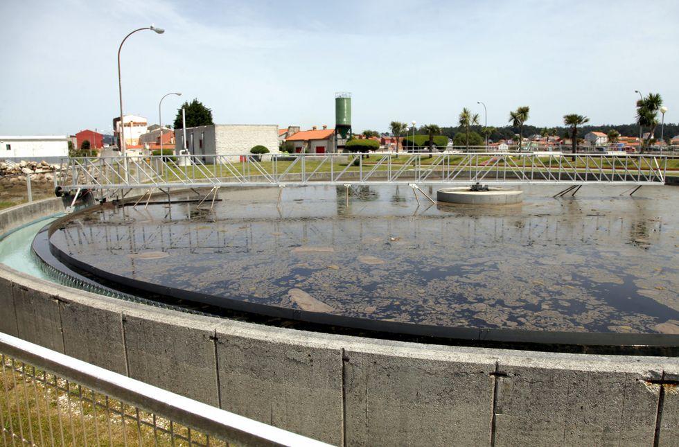En la planta de Boiro se registran averías por el aporte de aguas industriales.