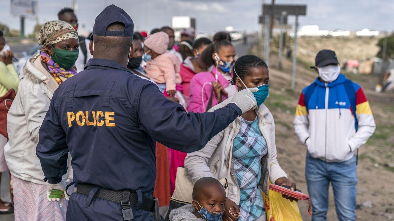 Imagen de Cape Town, en Sudáfrica, que es el páis más afectado por el coronavirus del continente