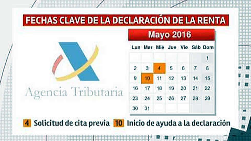 Éste es el calendario de la renta.El concello ribadense puede disponer de sus funcionarios.