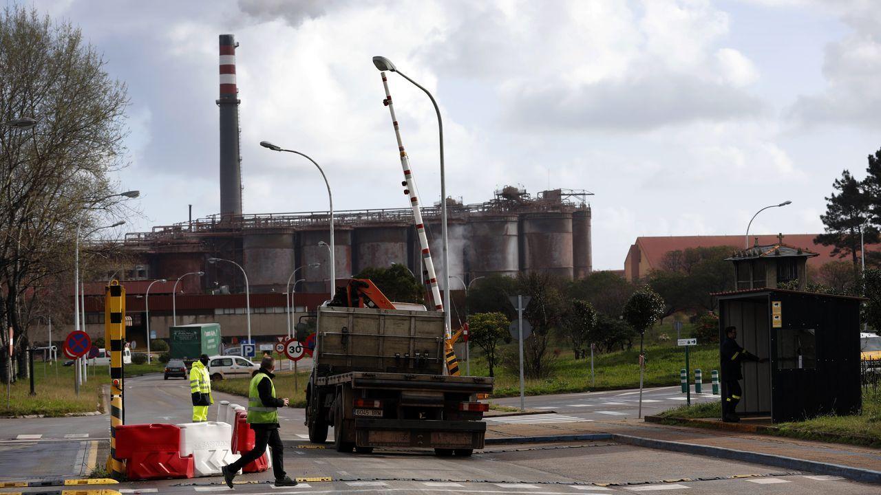 La fábrica de Celsa Atlantic en el municipio coruñés de A Laracha pertenece al sector electrointensivo