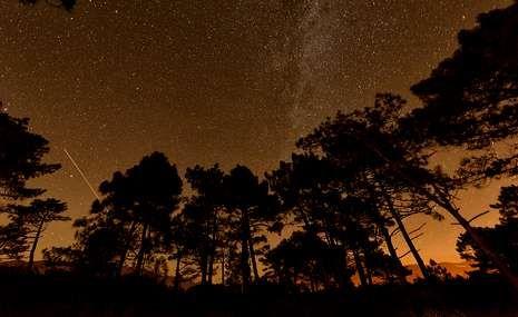 Lluvia de estrellas de las Dracónidas