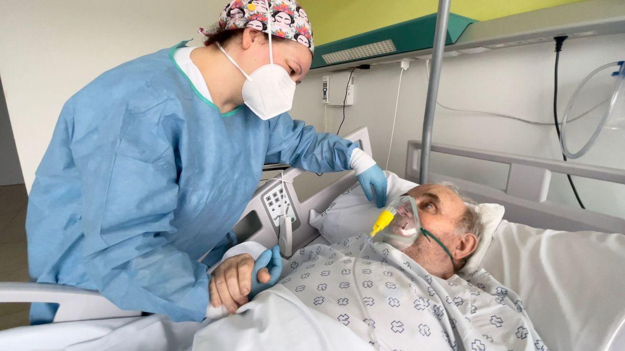 Ana Belén e Ignacio, enfermera y paciente unidos contra el covid-19