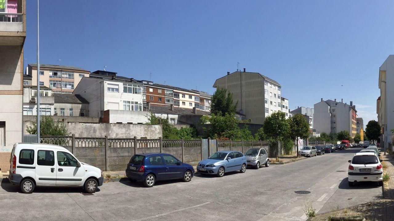 La calle López Guntín