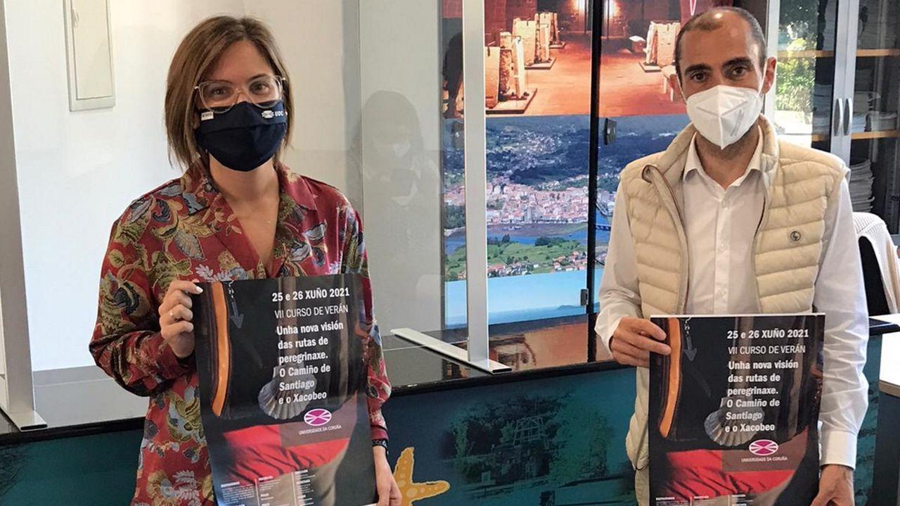 Iria Caamaño y José Pérez presentaron el nuevo curso