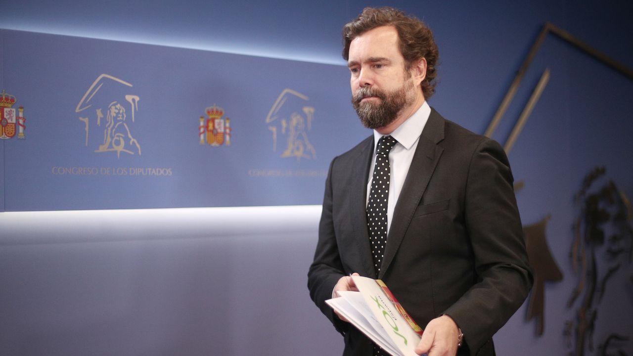 Puigdemont y Comín en la comparecencia informativa que ofrecieron en Bruselas