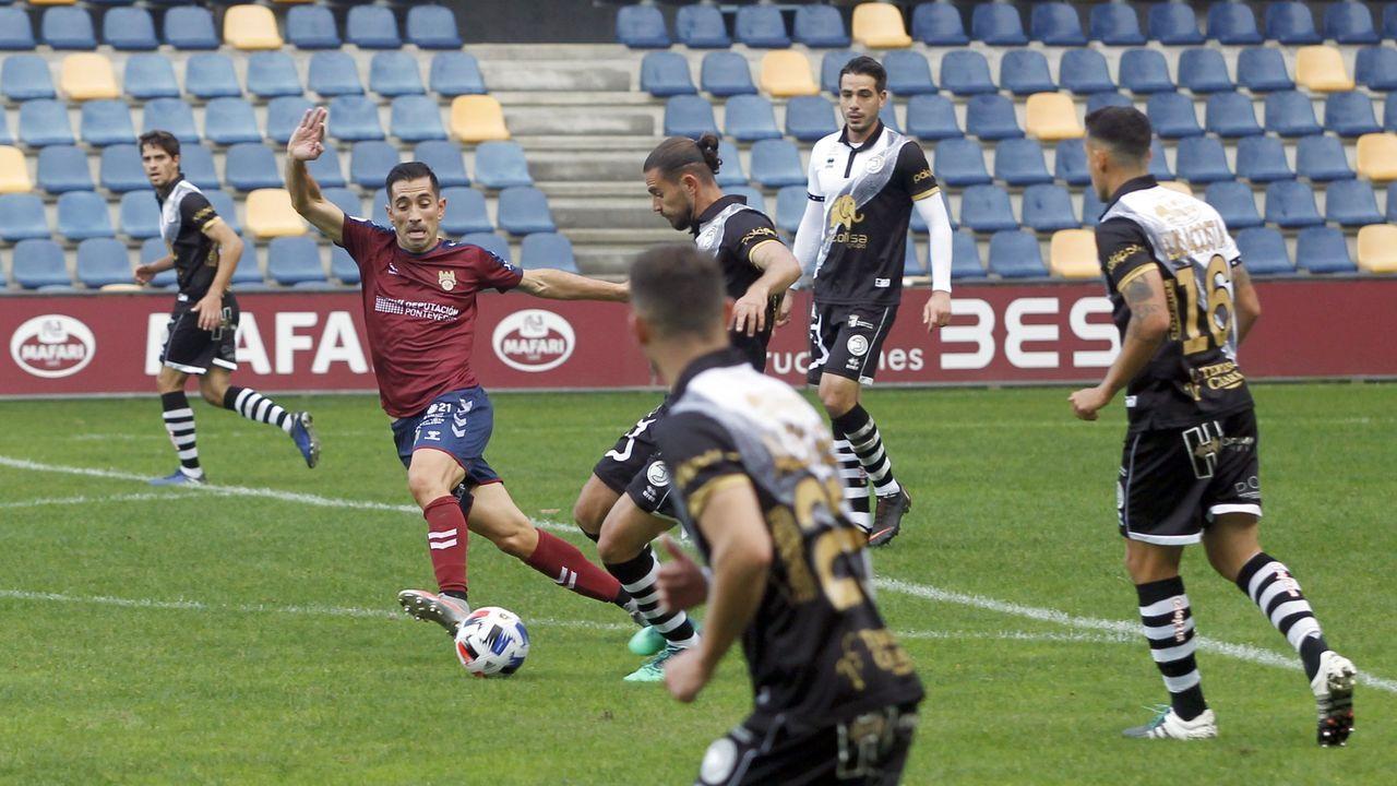 La trayectoria de Lillo, enimágenes.Equipo titular del Pontevedra CF que se enfrentó el pasado jueves al Cádiz en Copa del Rey