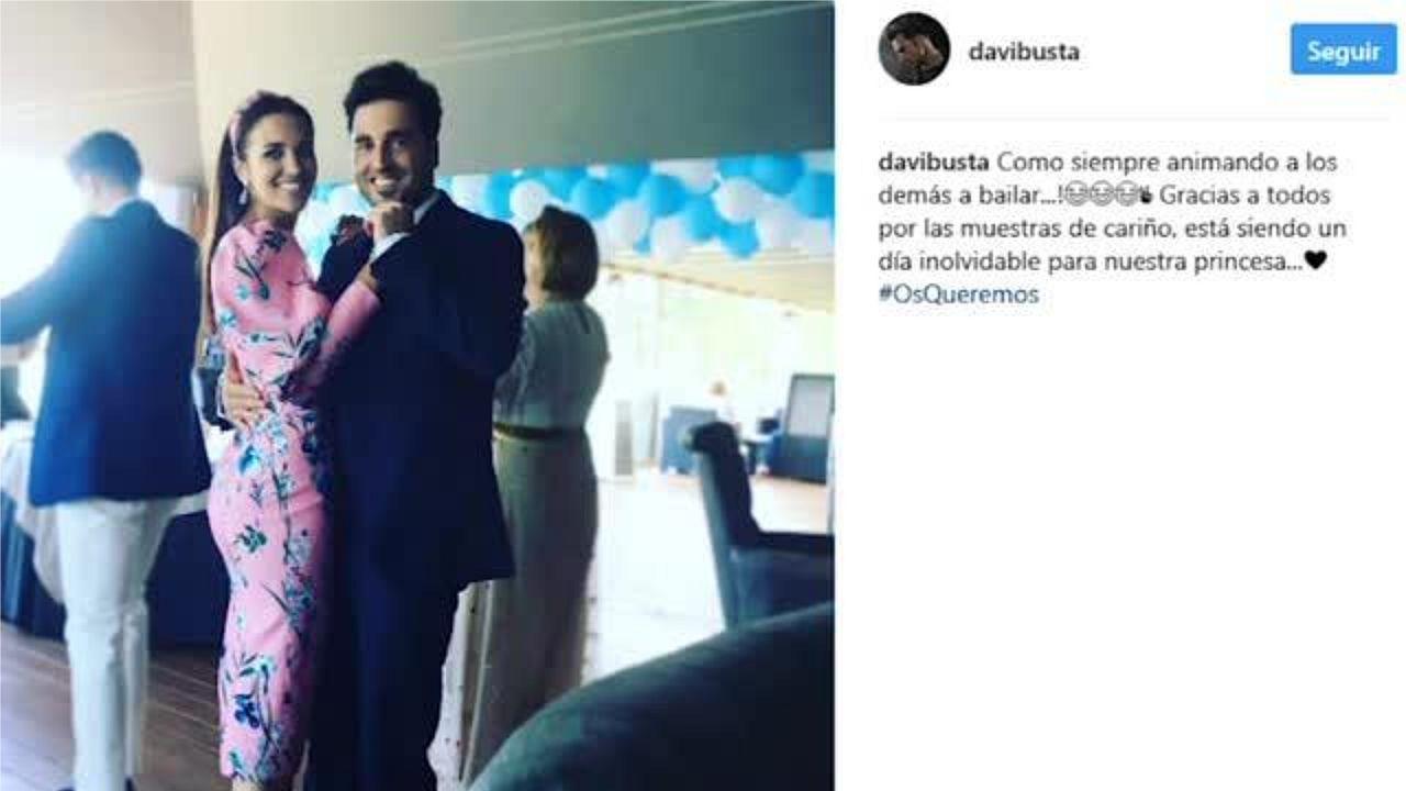 El baile más polémico de David Bustamante y Paula