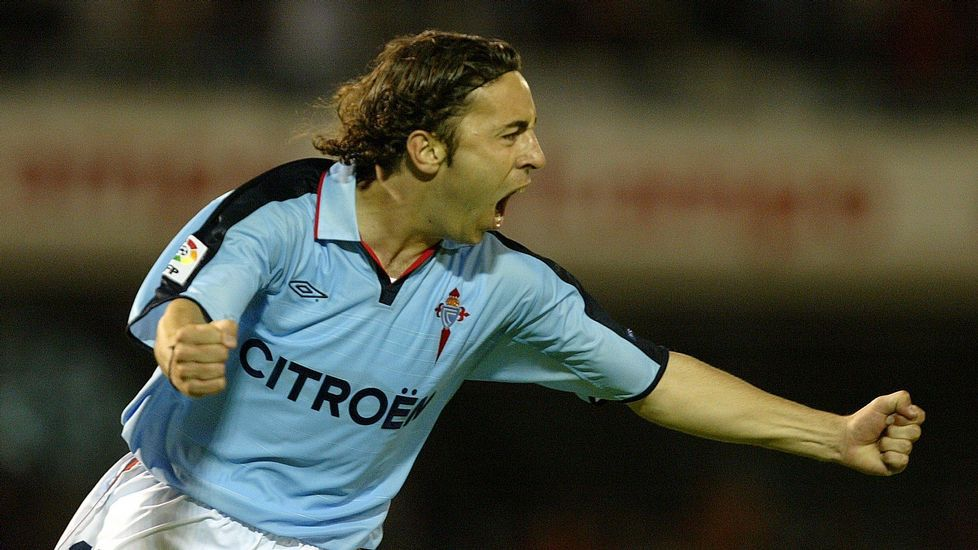 Perera anotó con el Celta 32 goles en 107 partidos