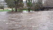Los ríos de Barbanza se desbordan