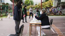 Los participantes en el cribado de Ribadavia fueron citados de forma escalonada para evitar aglomeraciones