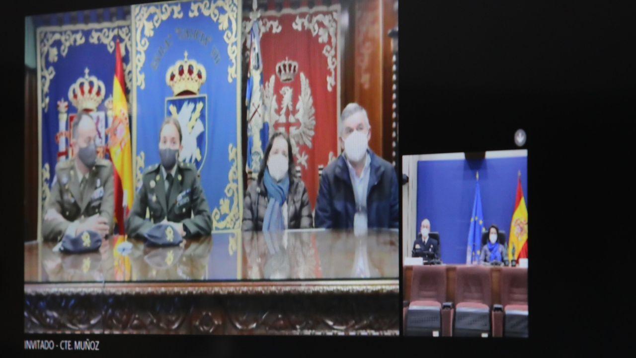 Así fue la entrega del premio Soldado Idoia Rodríguez.El presidente del Gobierno, Pedro Sánchez, y el vicepresidente segundo, Pablo Iglesias, en una reunión del Consejo de Ministros