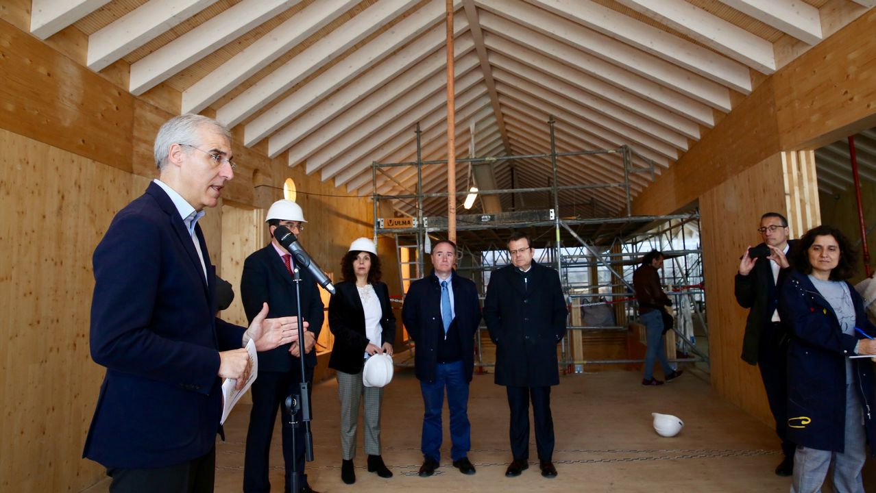 Xunta y Universidad, «preestrenan» el edificio que el campus tendrá en el centro
