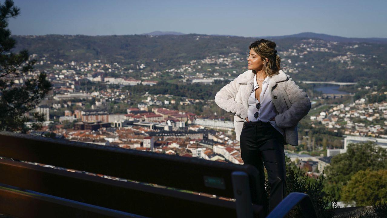 Operación policial en Vigo contra el tráfico de drogas.El mirador de Montealegre ofrece unas vistas increíbles de la ciudad