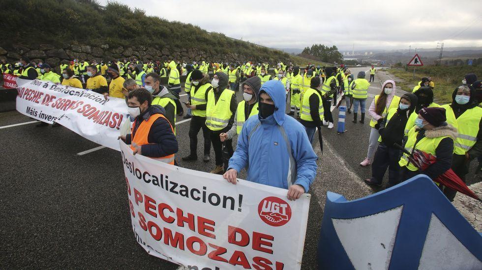 Los trabajadores están llamados a una nueva movilización, como esta de principios de enero