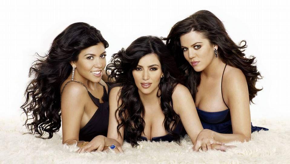 Las hermanas Kim, Khole y Kourtney Kardashian, protagonistas del reality «Las Kardashian», uno de los estrenos del canal.