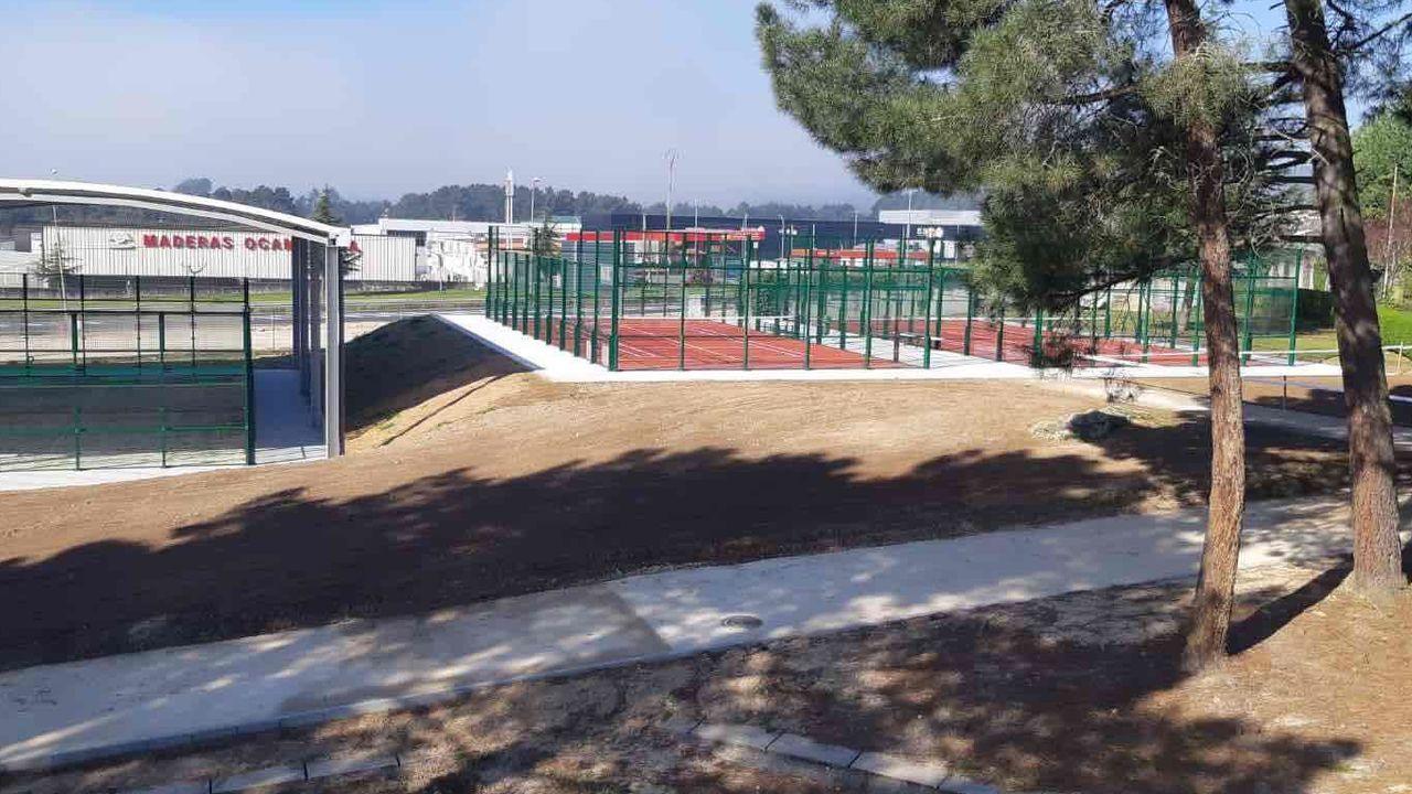 Nuevas instalaciones deportivas en el complejo de Monterrei.En O Carballiño, el cribado del sábado no detectó ningún positivo