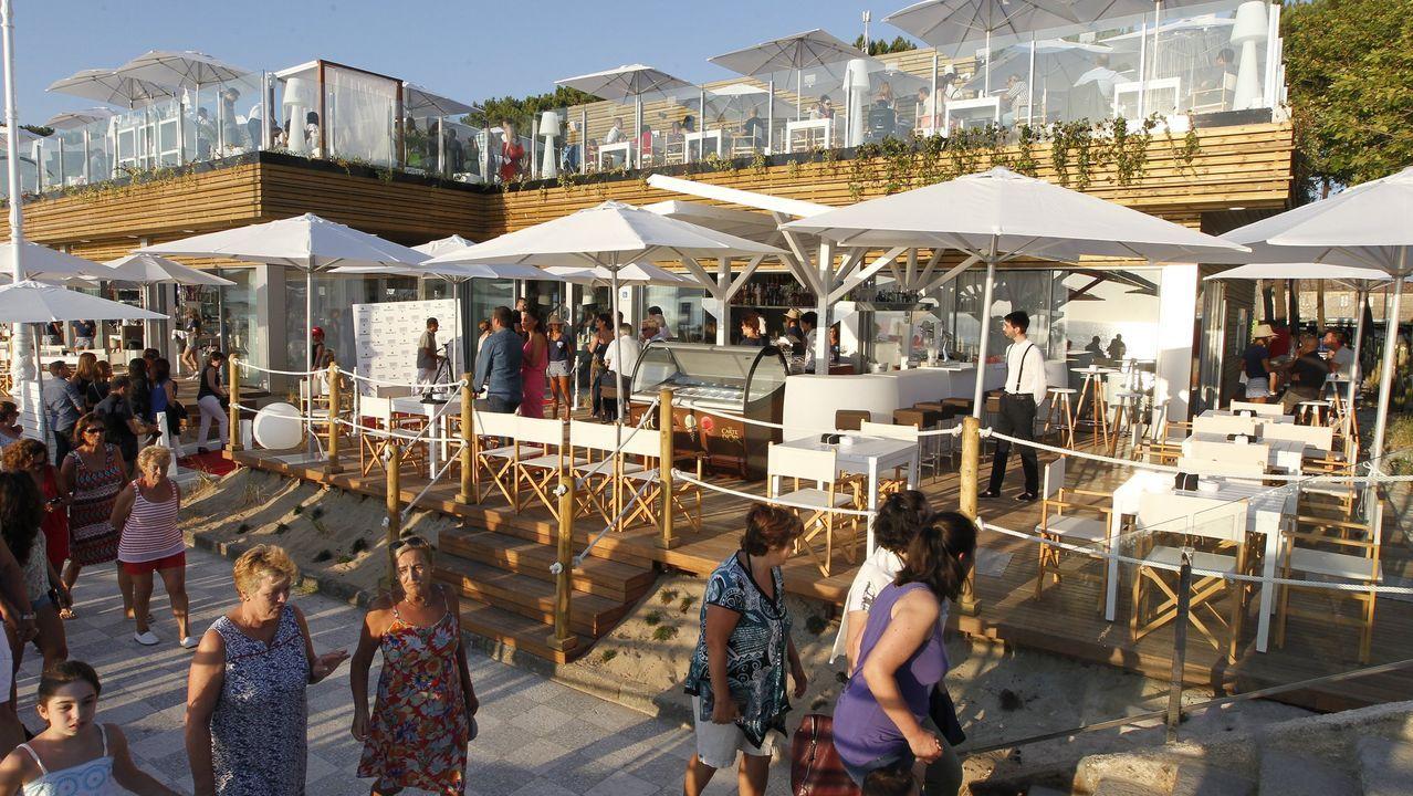 El nuevo bar Marina Cíes, que sustituyó al Jonathan