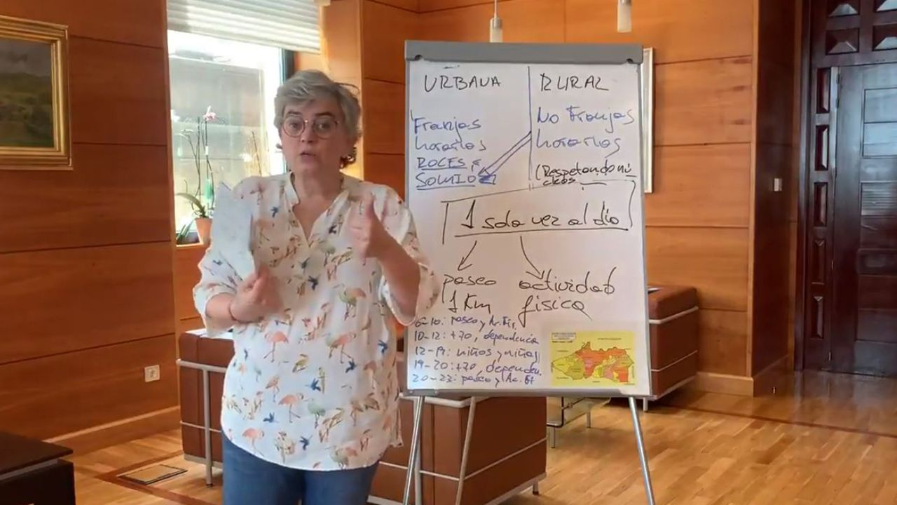 Asturias, «un pueblo roto por el dolor».Ana González, alcaldesa de Gijón, explica cómo se ha de llevar a cabo esta fase cero del desconfinamiento