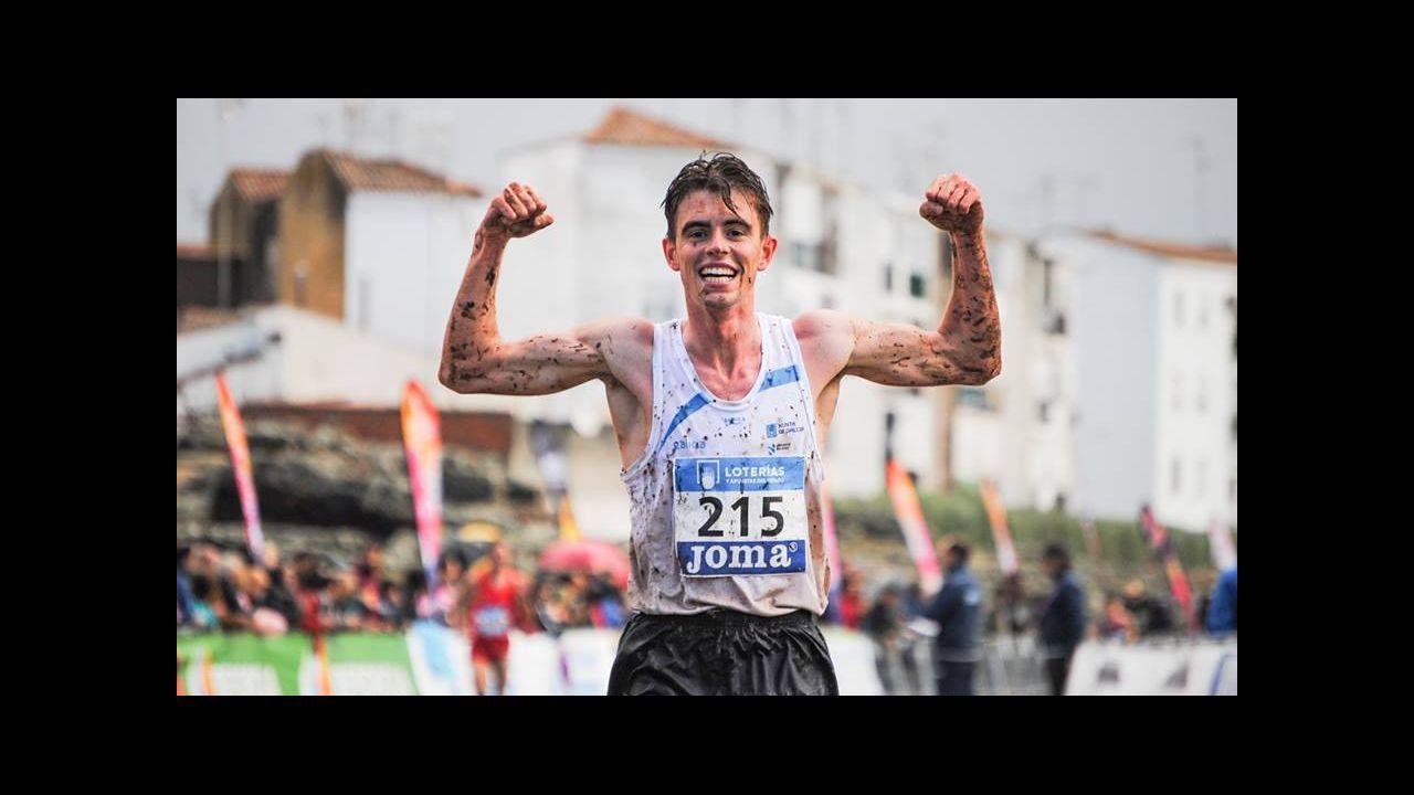 Deportistas gallegos con aspiraciones de ir a los Juegos Olímpicos de Tokio 2020.Mauro Triana