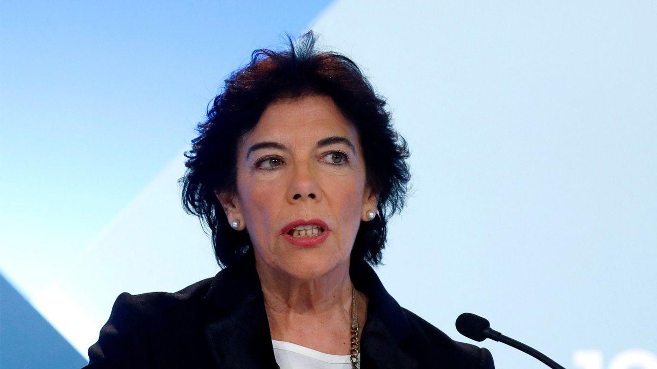 Isabel Celaá, en una imagen de archivo