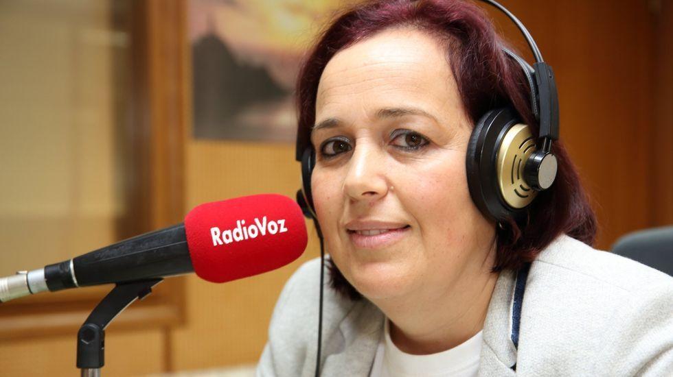 Insua, en una visita a Radio Voz antes de la pandemia