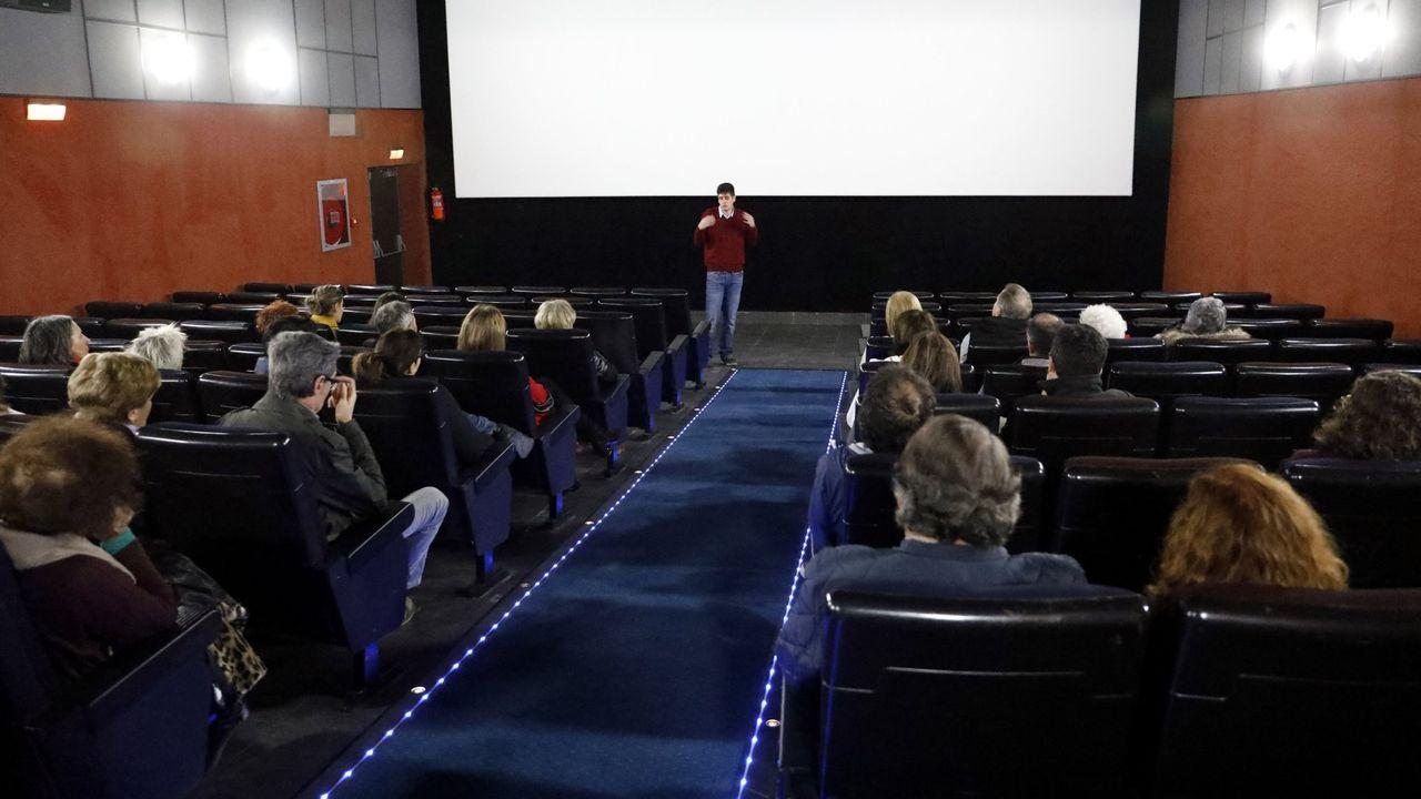 Día da inauguración dos cines Códex de Lugo