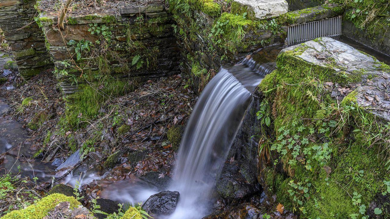 Caída de agua en el molino de Antonino
