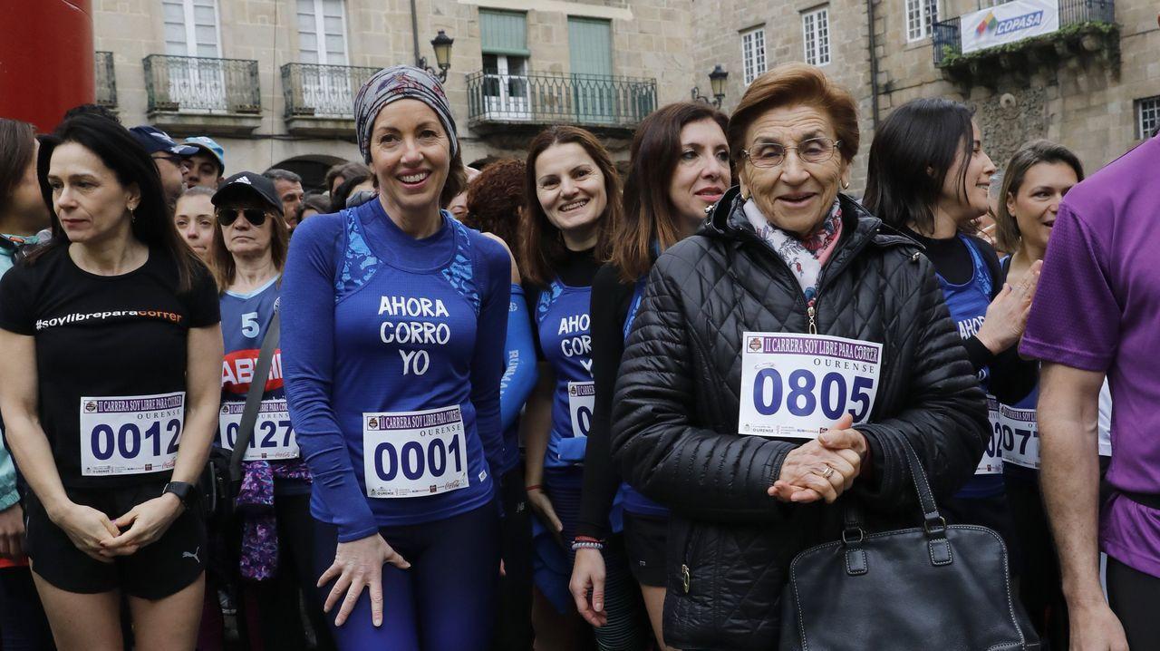 8M en Ourense.Carrera organizada por el Concello de Ourense para celebrar el 8M