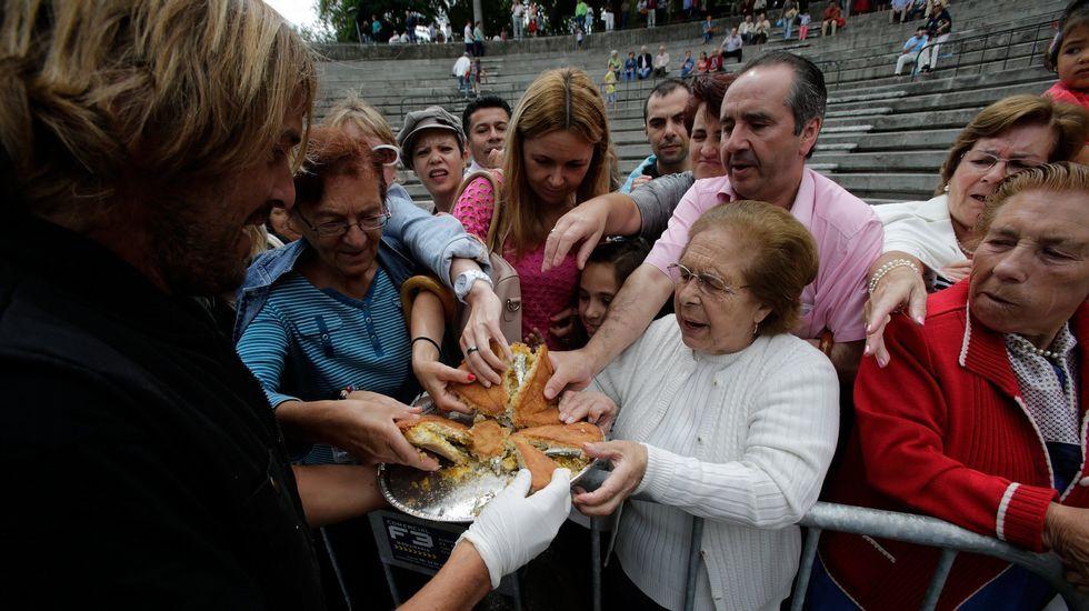 Concurso de la empanada en Santa Margarita