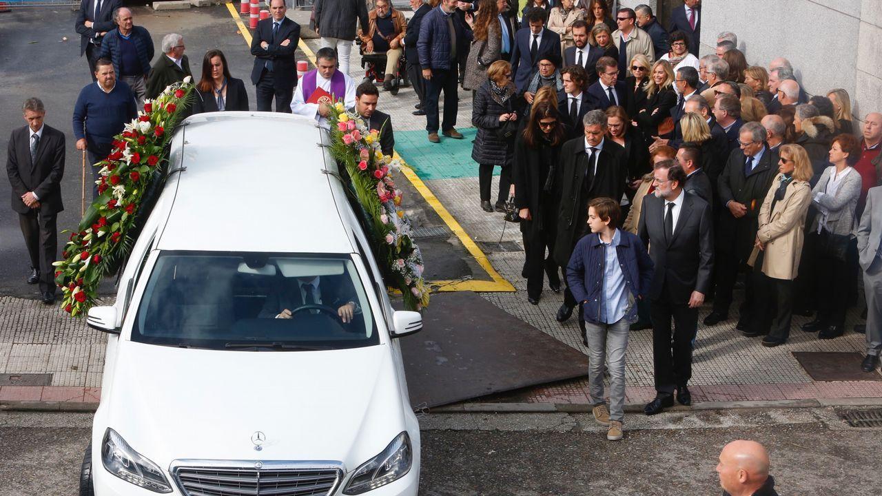 Entierro y funeral de Mariano Rajoy Sobredo.Cospedal, el pasado martes, en el Congreso