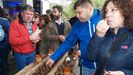 Degustación de castañas en la última edición del festejo, celebrada en noviembre del 2019