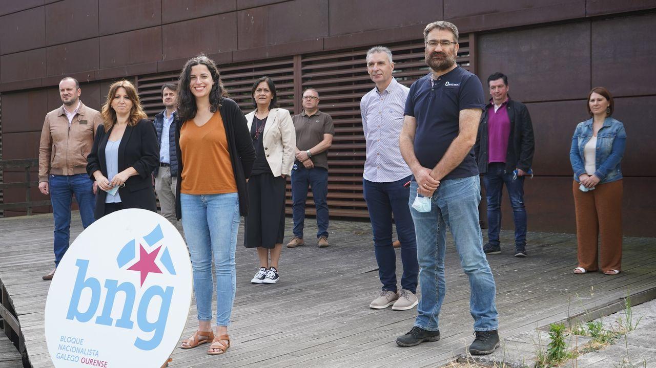 Los nacionalistas sacaron pecho del gobierno de Evencio Ferrero en Carballo.La Diputación celebró el primer pleno presencial desde que se declaró el estado de alarma