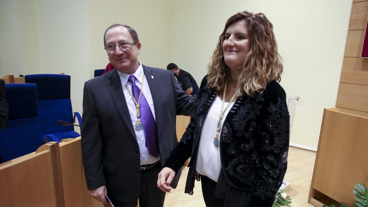 Marián Ferreiro, primera alcaldesa de Narón