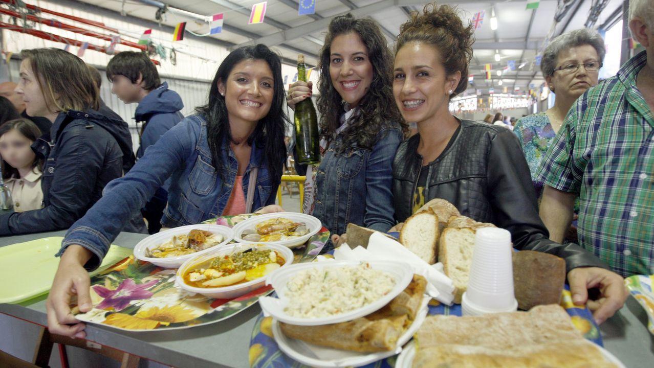 Festa da Merluza de Pincho Celeiro.Para merluza de pincho, la de Celeiro, en Viveiro. Sin duda