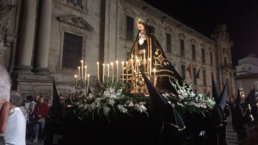 Procesión en Viernes Santo en Celanova