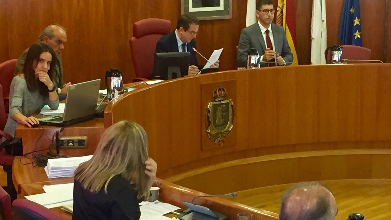 Pleno ordinario de octubre del ayuntamiento de Vigo