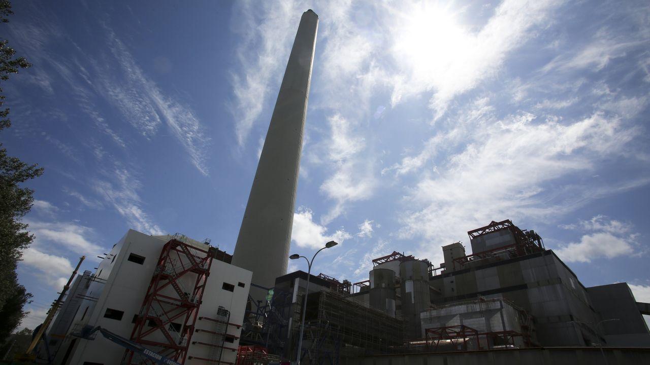 La central, en una foto del verano del 2019