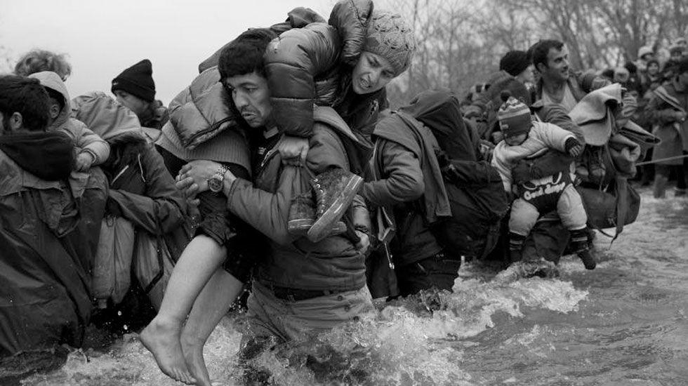 La tragedia delos refugiados en Idomeni, según Nachtwey.Martin McGuinness, en una imagen de archivo