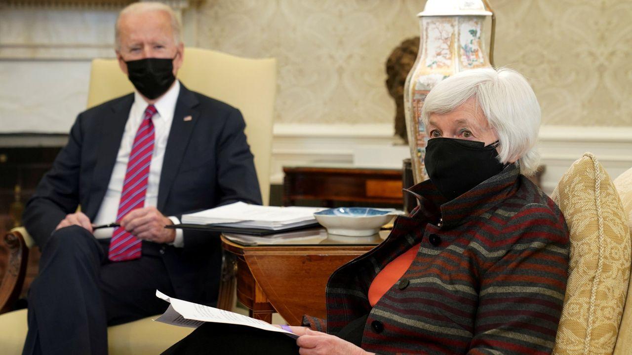 Biden celebra su primer 4 de julio en la Casa Blanca.Donald Trump, durante el mitin en Carolina del Norte