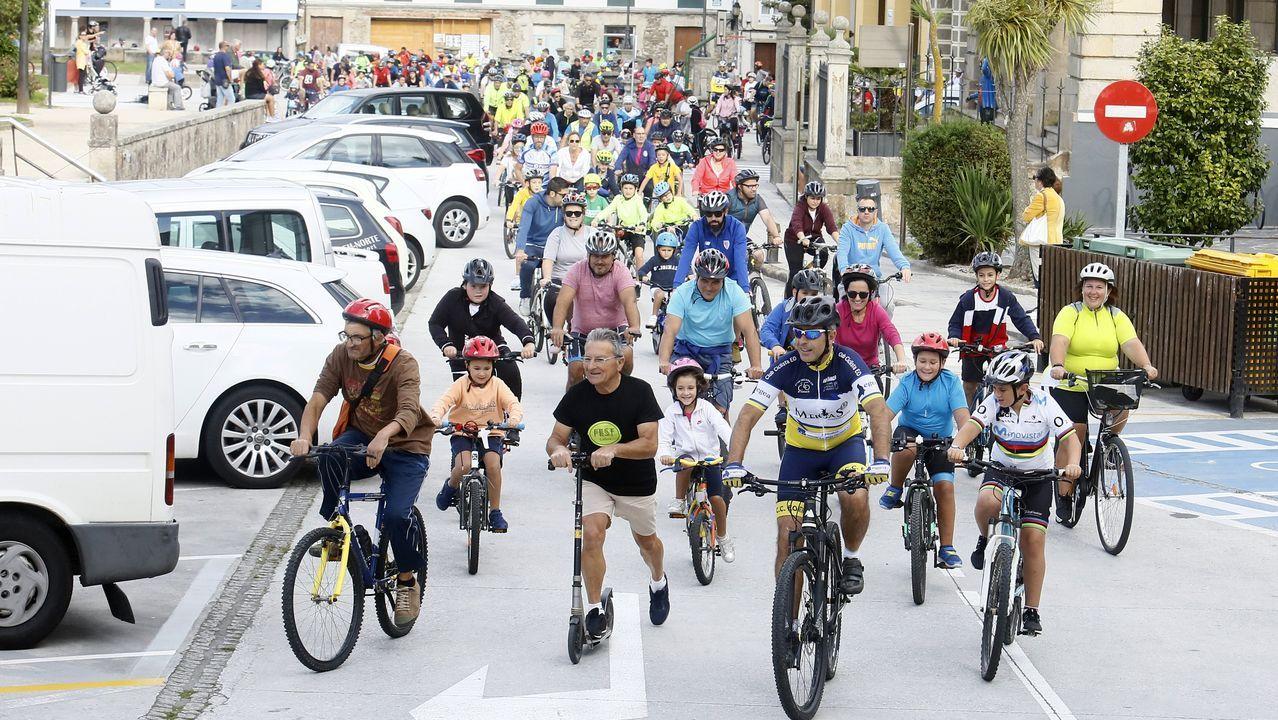 Dia de la bicicleta en Ribadeo