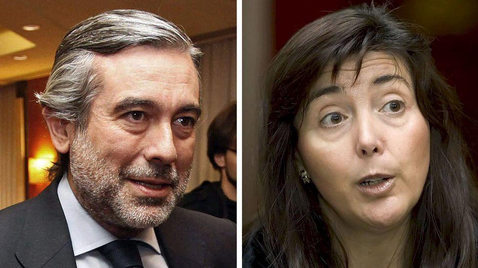 «B» - Trailer.Rafael Catalá y Carlos Lesmes, presidente del Consejo del Poder Judicial.