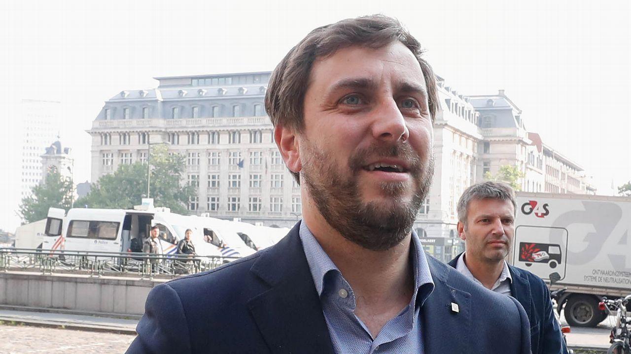 Como ya hizo Puigdemont, Toni Comín prevé invocar inmunidad como eurodiputado