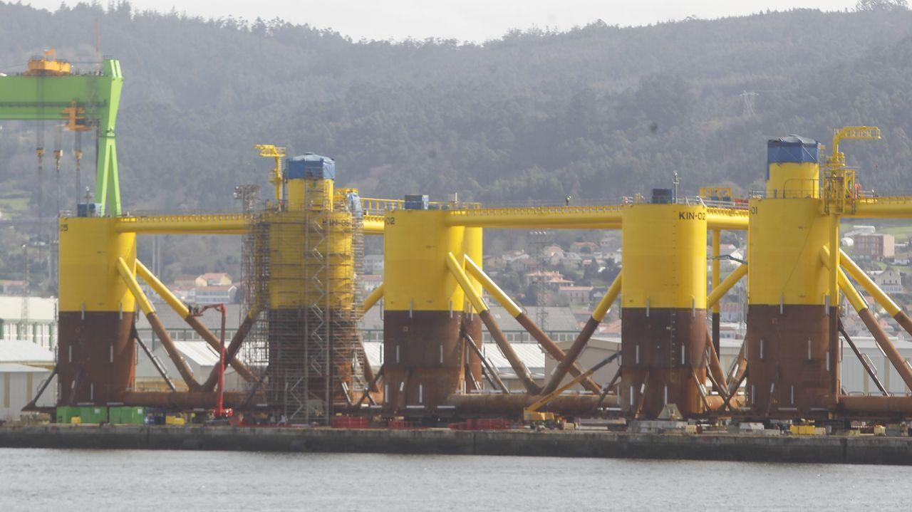 Imagen de la estructura que saldrá con destino a Rotterdam
