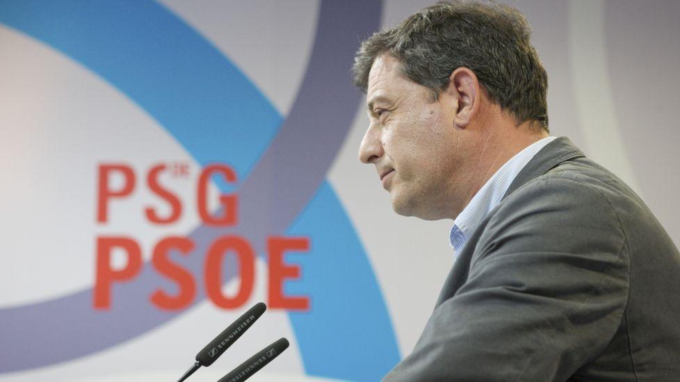 Castiñeira inició con Orozco la ronda de reuniones con los otros partidos