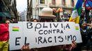 Manifestación en Bolivia contra la xenofobia y el racismo