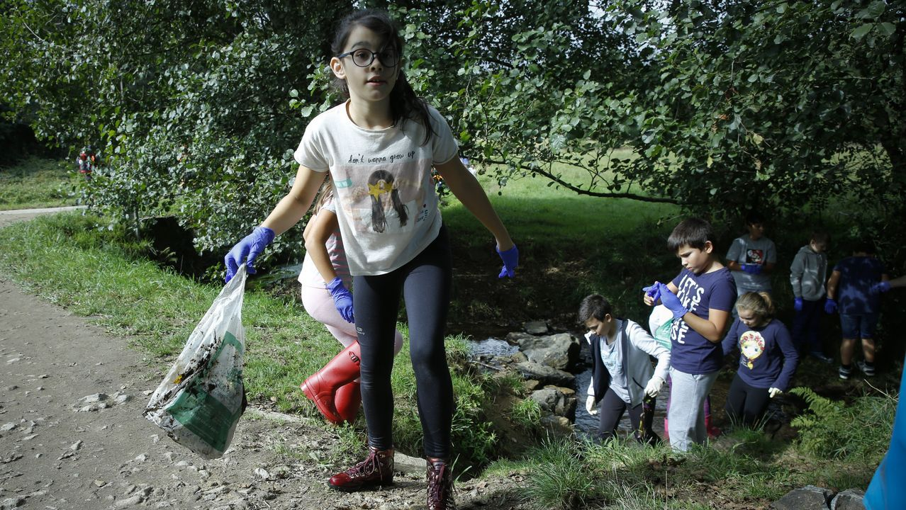 El cuidado del medio ambiente, pilar del colegio Rodríguez Xixirei