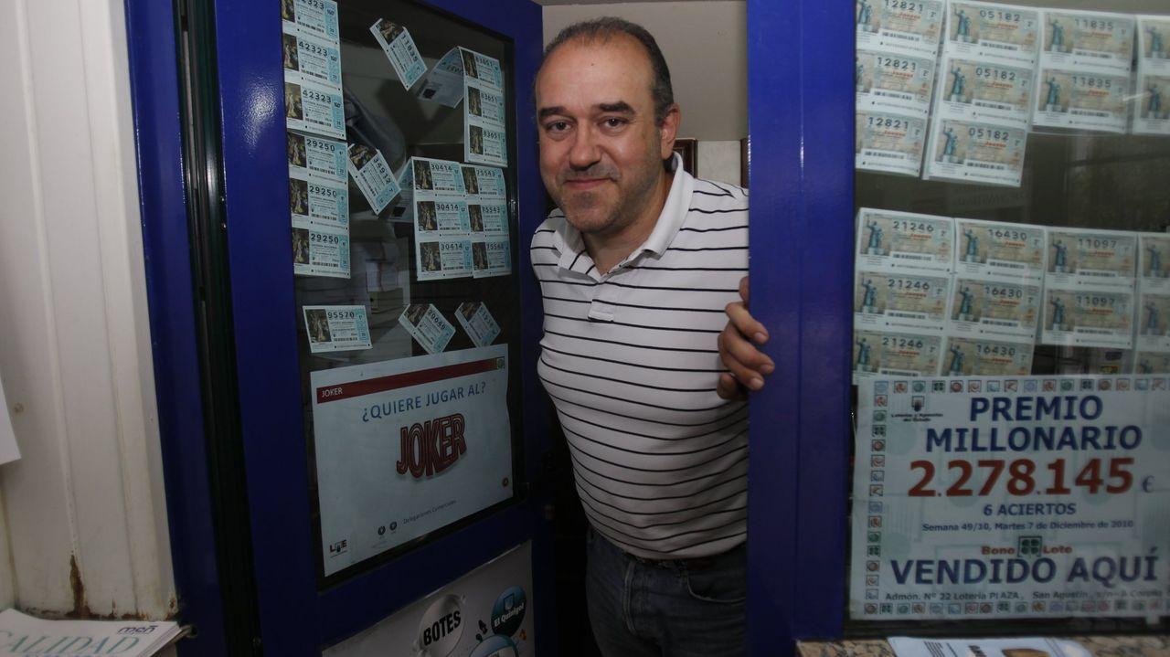 Manuel Reija, el lotero que dijo haber encontrado el boleto