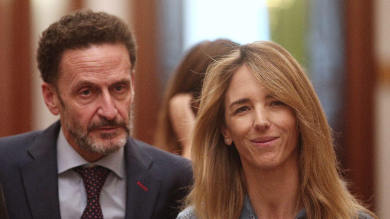 El portavoz adjunto de Cs en el Congreso, Edmundo Bal y la del PP, Cayetana Álvarez de Toledo